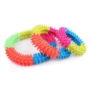 Rubber Ring Dog Toy